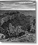 Wotan's Throne North Rim Grand Canyon National Park - Arizona Metal Print