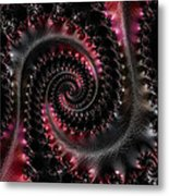 Wrapped Tails Metal Print