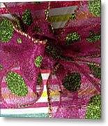 Wrapped Up With A Bow Metal Print