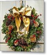 Wreath 32 Metal Print