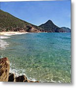 Wreck Beach Shoal Bay Port Stephens Metal Print