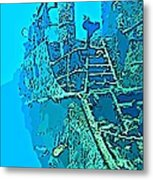 Wreck Diving Make The Discovery Metal Print