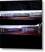 Wrench Handles E Metal Print