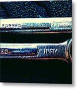 Wrench Handles F Metal Print