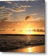 Wrightsville Beach Sunset Metal Print