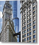 Wrigley And Trump In Harmony Metal Print