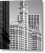 Wrigley Building - A Chicago Original Metal Print