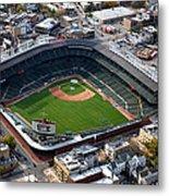 Wrigley Field Chicago Sports 02 Metal Print