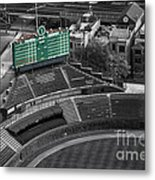 Wrigley Field Chicago Sports 04 Selective Coloring Metal Print