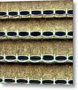 Wrigley Field Grandstand Seats From Upper Deck Metal Print