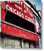 Wrigley Red Metal Print by Jame Hayes
