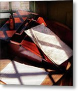 Writer - A Letter To My Brother  Metal Print by Mike Savad