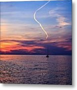 Writing In The Sky Metal Print