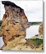 Writing-on-stone Provincial Parks Metal Print