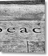 Written In Stone Metal Print by Christi Kraft