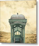 Wrong Train Right Station Metal Print