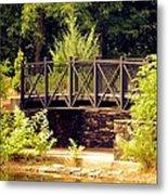 Wrought Iron Bridge Metal Print