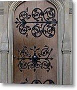Wrought-iron Door Metal Print