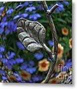 Wrought Iron Garden Metal Print