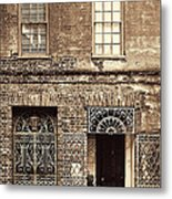 Wrought Iron Gates Metal Print
