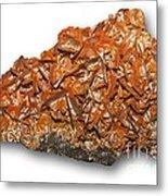 Wulfenite Mineral Metal Print