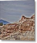 Wupatki National Monument-ruins V15 Metal Print