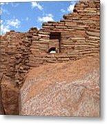 Wupatki Pueblo Ruin Metal Print