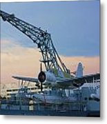 Ww II Sea Plane Metal Print