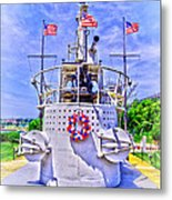 Ww II Submarine Memorial Metal Print