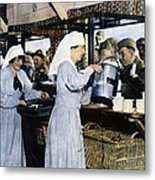 Ww1: Red Cross, 1918 Metal Print