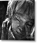 Ww2 Memorial To Japanese Held In Internment Camps Metal Print