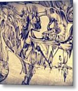 WW3 Metal Print