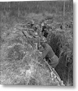 Wwi Black Troops, 1918 Metal Print