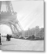 Wwi Eiffel Tower, C1914 Metal Print