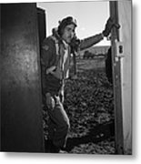 Wwii: Tuskegee Airman, 1945 Metal Print