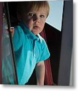 Wyatt Portrait 3 Metal Print