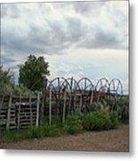 Wyoming Backroads 2 Metal Print