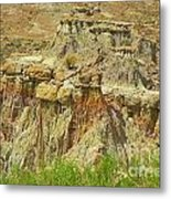Wyoming Badlands Landscape Three Metal Print