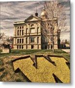 Wyoming Capitol Building Metal Print