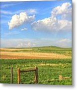 Wyoming Landscape Metal Print