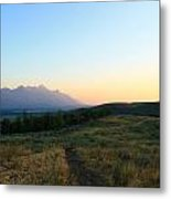 Wyoming Landscapes Metal Print