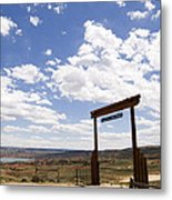 Wyoming Ranch Metal Print