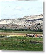 Wyoming Ranch Metal Print