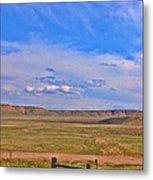 Wyoming Spring Metal Print
