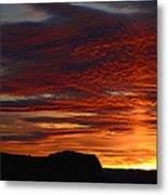 Wyoming Sunset #1 Metal Print