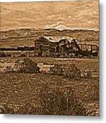 Wyoming West Metal Print