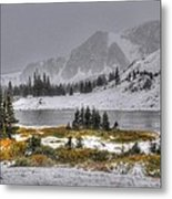 Wyoming's Medicine Bow National Forest Metal Print