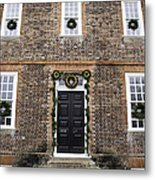 Wythe House Squared Metal Print