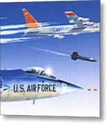 X-15 Launch Metal Print