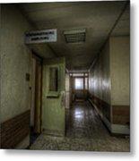 X Ray Waiting Room. Metal Print